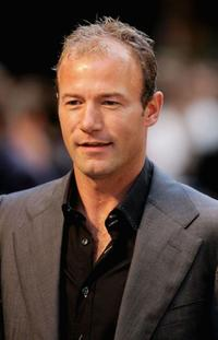 Alan Shearer at the world premiere of