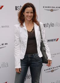 Ally Sheedy at the VMA Style Villa at the Bryant Park Hotel.