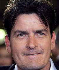 Charlie Sheen at the Festival Palace for the premiere of