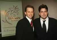 Charlie Sheen and Jon Cryer at the 9th Annual Dinner Benefitting the Lili Claire Foundation.