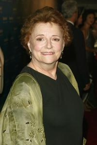 Carole Shelley at the premiere of