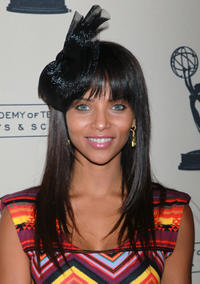 Denise Vasi at the 2011 Daytime Emmy Awards nominees cocktail reception in California.