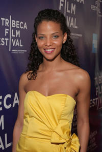 Denise Vasi at the New York premiere of