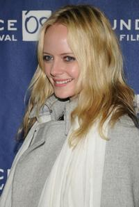 Marley Shelton at the premiere of