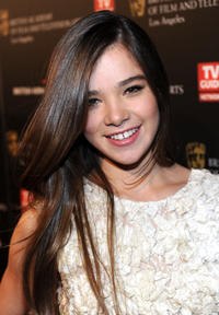 Hailee Steinfeld at the BAFTA Los Angeles 2010 Britannia Awards.
