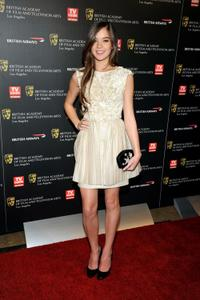 Hailee Steinfeld at the 18th Annual BAFTA Britannia Awards.