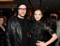 Justin Timberlake and Hailee Steinfeld at the after party of the screening of