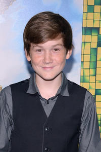 Matthew Lintz at the New York premiere of