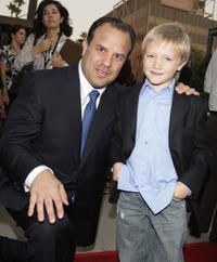 Rod Lurie and Dakota Goyo at the Los Angeles premiere of