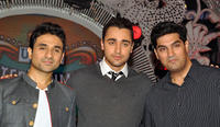 Vir Das, Imran Khan and Kunal Roy Kapoor at the promotional event of