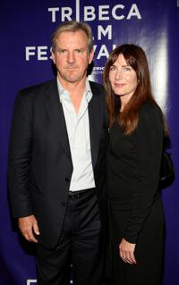 Jamey Sheridan and Colette Kilroyand at the premiere of
