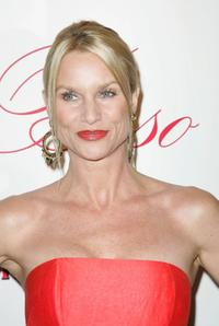 Nicollette Sheridan at the grand opening of Eva Longoria Parkers new restaurant Beso.