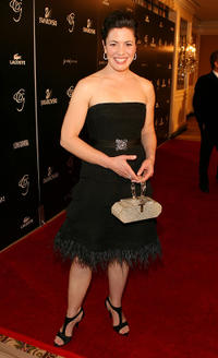 Jacqueline Mazarella at the after party of the 9th Annual Costume Designers Guild Awards in California.