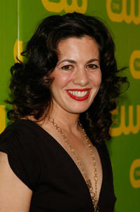 Jacqueline Mazarella at the CW Launch party in California.