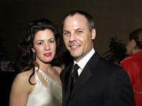 Jacqueline Mazarella and Christopher Grubb at the 7th Annual Costume Designers Guild Awards VIP Reception.
