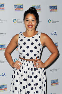 Gina Rodriguez at the London screening of