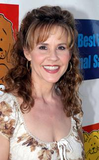 Linda Blair at the Best Friends Animal Sanctuary Pet Adoption Festival.