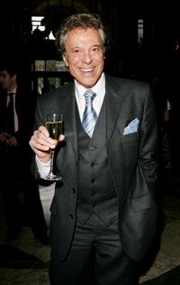 Lionel Blair at the cocktail party to launch nationwide fundraising tea dances due to take place on Australian and New Zealand memorial Anzac Day.