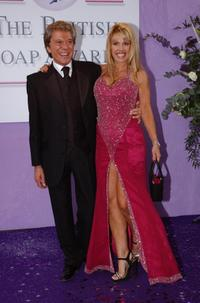 Lionel Blair and Cindy Marshall-Day at the 5th Annual British TV Soap Awards.