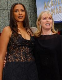 Anika Poitier and Joanna Shimkus at the 74th Annual Academy Awards.