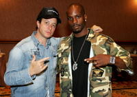 Pauly Shore and rapper DMX at the International Pool Tour World 8-Ball Championship.
