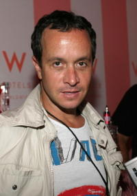 Pauly Shore at the Olympus Fashion Week Spring 2005.