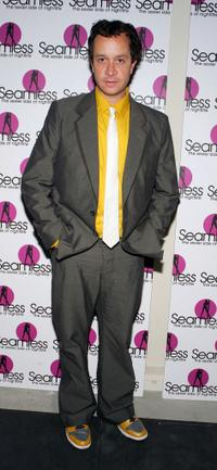 Pauly Shore at the grand opening of the Seamless Adult Ultra Lounge early.