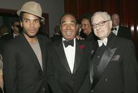 Lenny Kravitz, Bobby Short and Sy Kravitz at the Surprise 80th Birthday Party For Bobby Short.