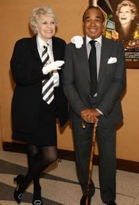 Elaine Stritch and Bobby Short at the screening of