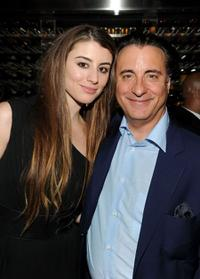 Dominik Garcia-Lorido and Andy Garcia at the after party of the premiere of