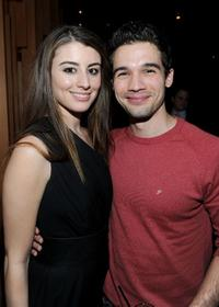 Dominik Garcia-Lorido and Steven Strait at the after party of the premiere of