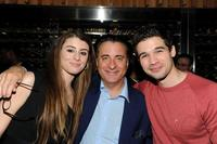 Dominik Garcia-Lorido, Andy Garcia and Steven Strait at the after party of the premiere of