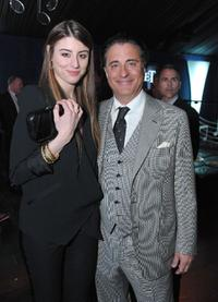 Dominik Garcia-Lorido and Andy Garcia at the 25th Film Independent Spirit Awards.