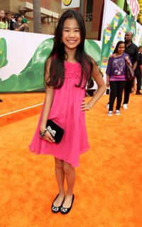 Tiffany Espensen at the Nickelodeon 2011 Kids' Choice Awards in California.