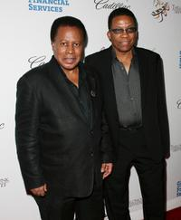 Wayne Shorter and Herbie Hancock at the Thelonious Monk Jazz Tribute Concert.