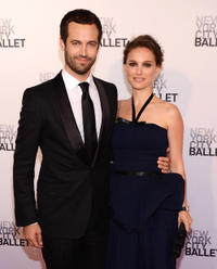 Benjamin Millepied and Natalie Portman at the New York City Ballet's 2012 Spring Gala.