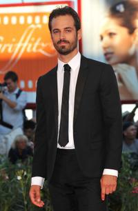 Benjamin Millepied at the Italy premiere of