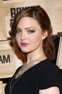 Holliday Grainger at the New York premiere of