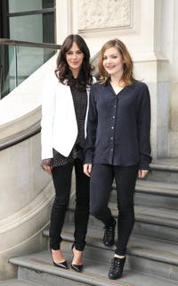 Jesica Brown Findlay and Holliday Grainger at the photocall of