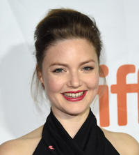 Holliday Grainger at the premiere of 'The Riot Club' during the 2014 Toronto International Film Festival.