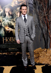 Luke Evans at the California premiere of