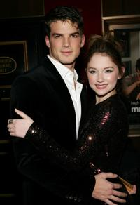 Rick Malambri and Haley Bennett at the premiere of