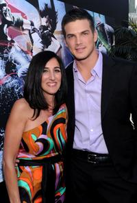 Producer Jennifer Gibgot and Rick Malambri at the California premiere of
