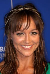 Sharni Vinson at the Australians In Film's 2010 Breakthrough Awards.