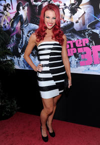 Kendra Andrews at the California premiere of