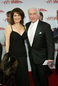 Cynthia Sikes and her husband Bud Yorkin at the 33rd AFI Life Achievement Award tribute to George Lucas.