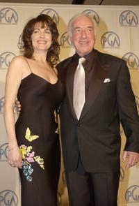 Cynthia Sikes and Bud Yorkin at the 14th Annual Producers Guild Awards.