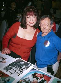 Lisa Loring and Felix Silla at the Hollywood Collectors and Celebrity Show.