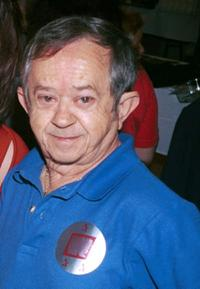 Felix Silla at the Hollywood Collectors and Celebrity Show.