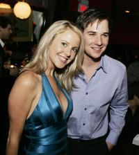 Chelan Simmons and Ryan Merriman at the after party of the premiere of